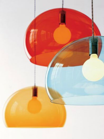 FLY Suspension Light By Ferruccio Laviani, from   Kartell