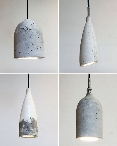 Diy Concrete Lights