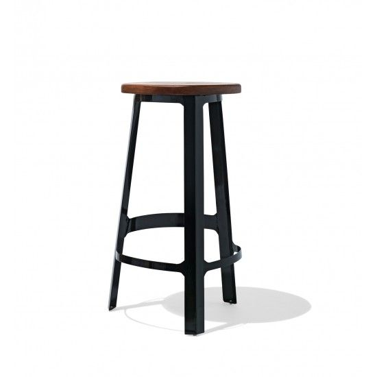 Industry West Abode Bar Stool With A Wood Seat.jpg