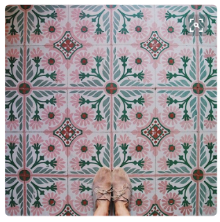 Cuban Tile inspiration image from Instagram