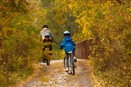 Family friendly biking off of Wallowa County's Roads
