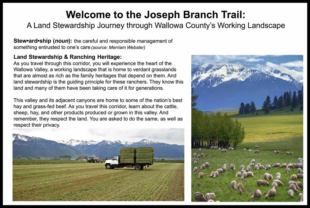 Interpretive Sign Program Along Trail to Lead the Local Conversation