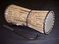 The talking drum is probably the most known drum from Africa. It is mostly found in West Africa in countries such as Nigeria, Mali, Ghana, Togo and Benin. It is an hour-shaped drum that is usually placed under the arm. To vary the pitch or sound, the player presses or squeezes the narrow edge.