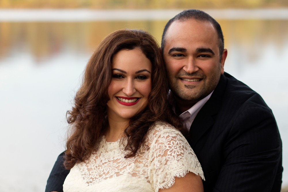 Lisa Damico Portraits │ Northern Virginia Engagement Session │ Lilly & Shahrouz