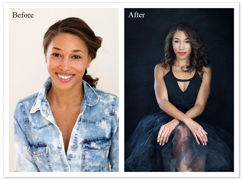 Lisa Damico Portraits │DC Arlington Alexandria Northern Virgina Headshot Photographer │ Glamour