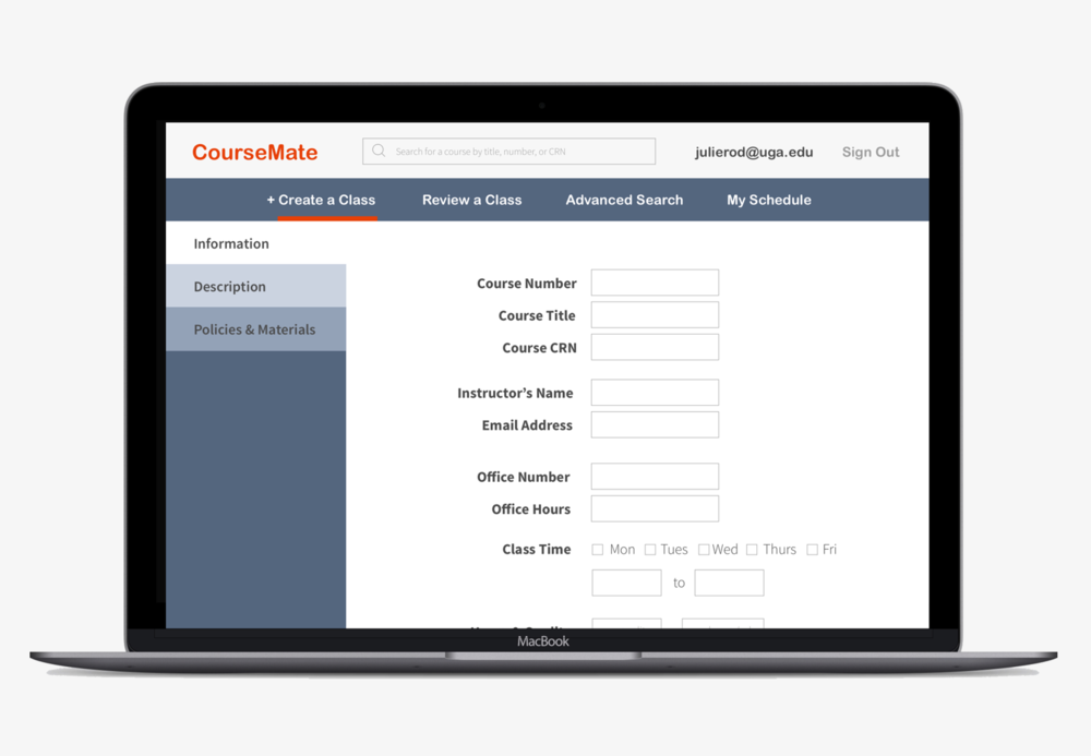 CourseMate - A new solution for teachers to create syllabuses that enable students to build adaptable careers that they can be passionate about.