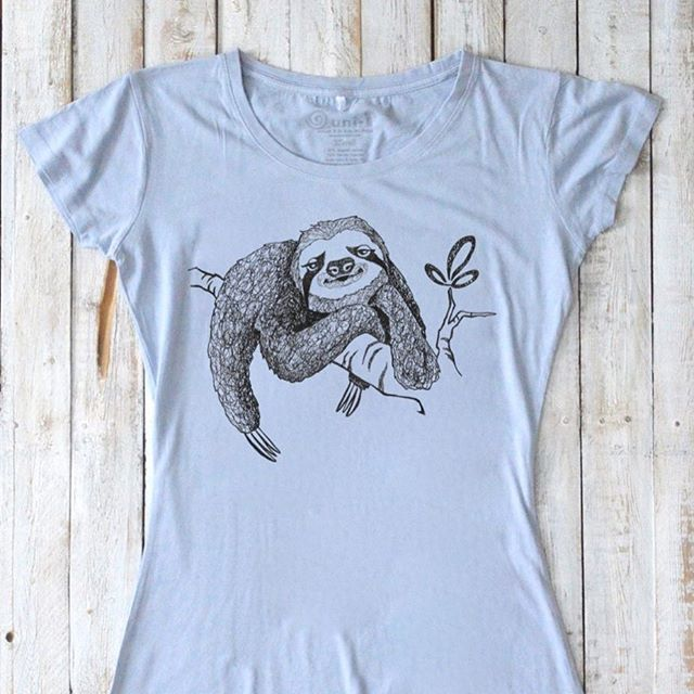 New design is here! We all need to stop and chill more! Don't forget that you can order any color you want and with or without words. #sloth #slothtshirt #slothgift #chillen #massachusetts #boston #bostonartist