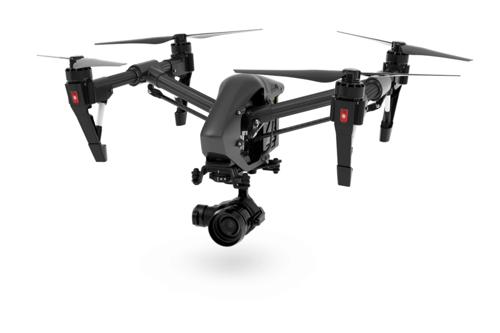 Inspire 2 - All-in-one flying platform built for performance, portability and compatibility. Works great for high speed filming with with capability to go 58 MPH. It is compatible with multiple different payloads, we match it with the high quality X7.