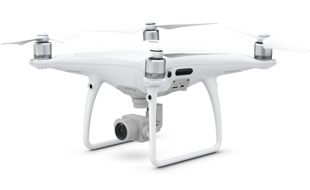 Phantom Pro - This is a smaller drone this is great to get into tight spaced to ensure we get the best shot. It has a built in camera that provides clean video in up to 4K at 30fps and Full HD 1080p at 120fps for slow motion..