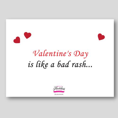 Bad rash valentines day greeting card 18 truly tasteless cards bad rash valentines day greeting card 18 m4hsunfo