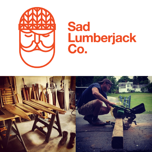 Follow  @sadlumberjack  on Instagram. Amazing logo by  @magnificodesign .
