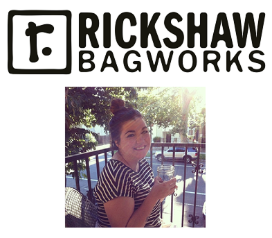 Meet Angelina! She's the social media force behind Rickshaw Bagworks. Follow  Rickshaw Bagworks  on Instagram.