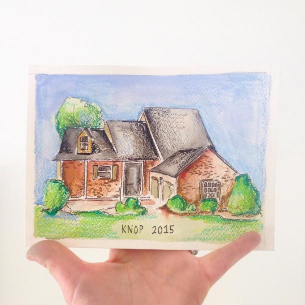 Lauren paints homes. See more on  instagram.com/dahlhouseinteriors .