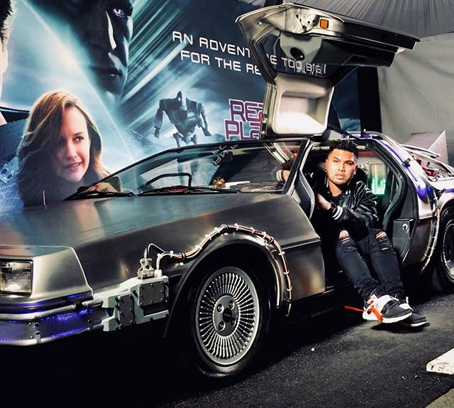 Why are things so heavy in the Future? I don't know but concert and festivals are still crushing it and I eventually get the pair of Nike Air Mags I always wanted. . . . . #delorean #dmc #readyplayerone #backtothefuture #nike #nikeairmag