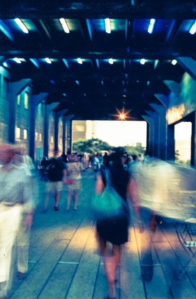 Film photographs of NYC I created May 2012