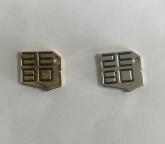 Gold & Silver Logo Charm