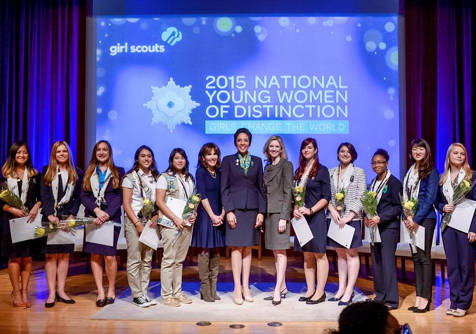 Girl Scouts 2015 National Young Women of Distinction