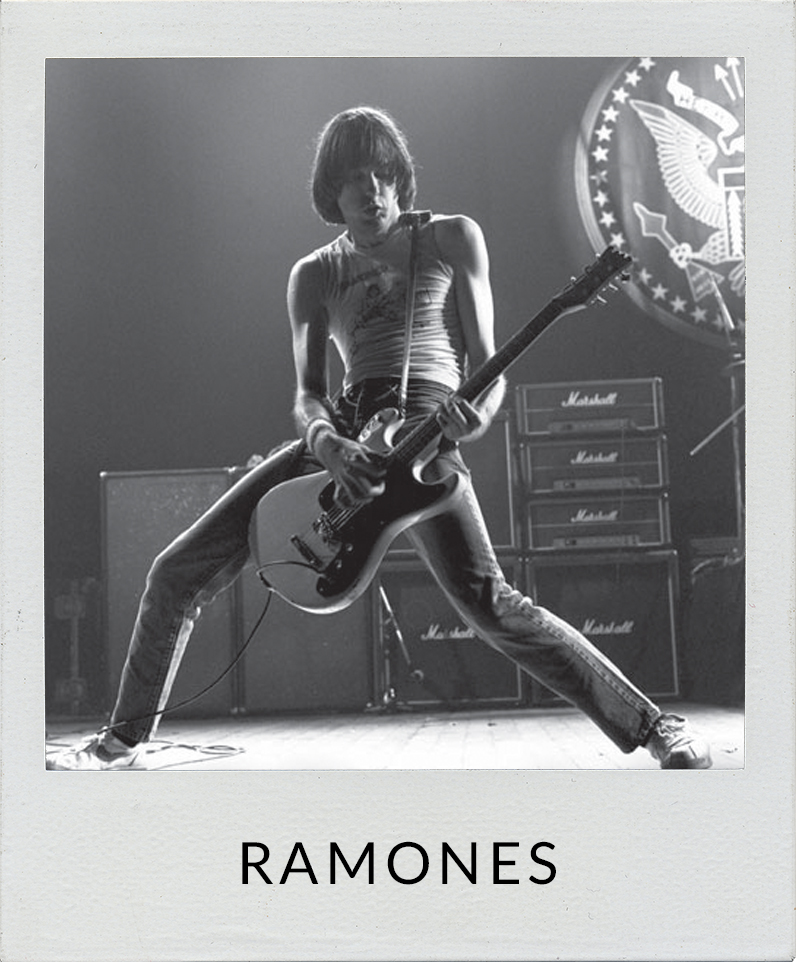 Photos of The Ramones