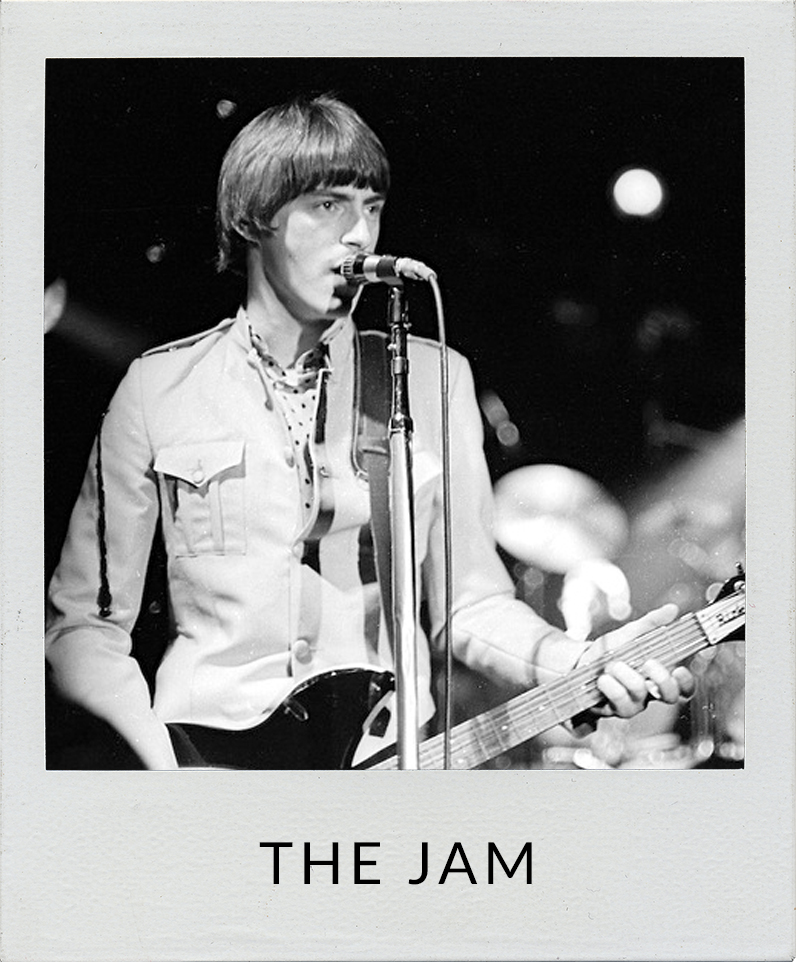 The Jam Paul Weller photos
