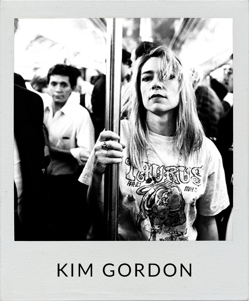 Kim Gordon of Sonic Youth book cover