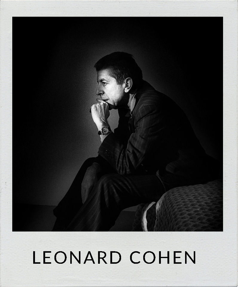 Leonard Cohen photos