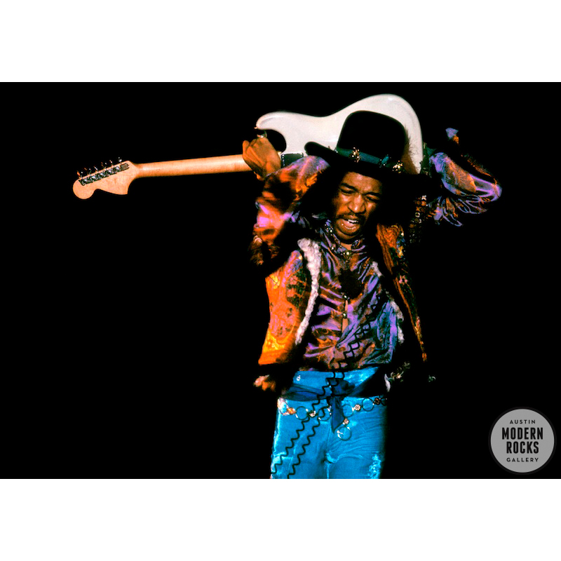 Jimi Hendrix live in color by Ray Stevenson — Buy Signed Limited ...