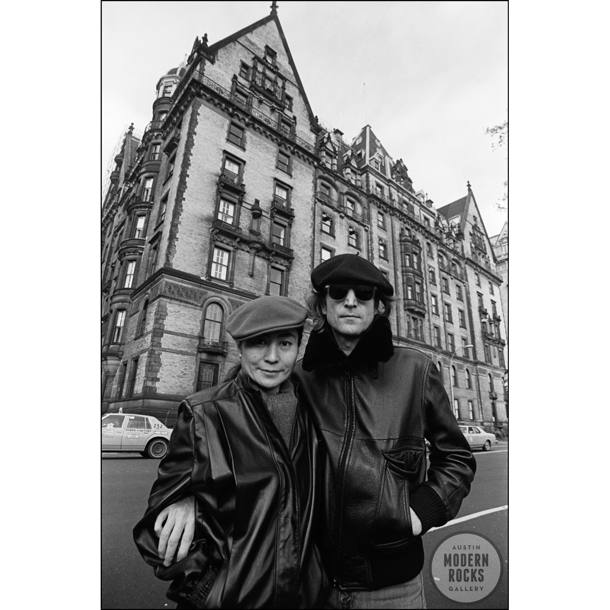 John Lennon And Yoko Ono Dakota By Allan Tannenbaum Buy Signed Limited Edition Prints