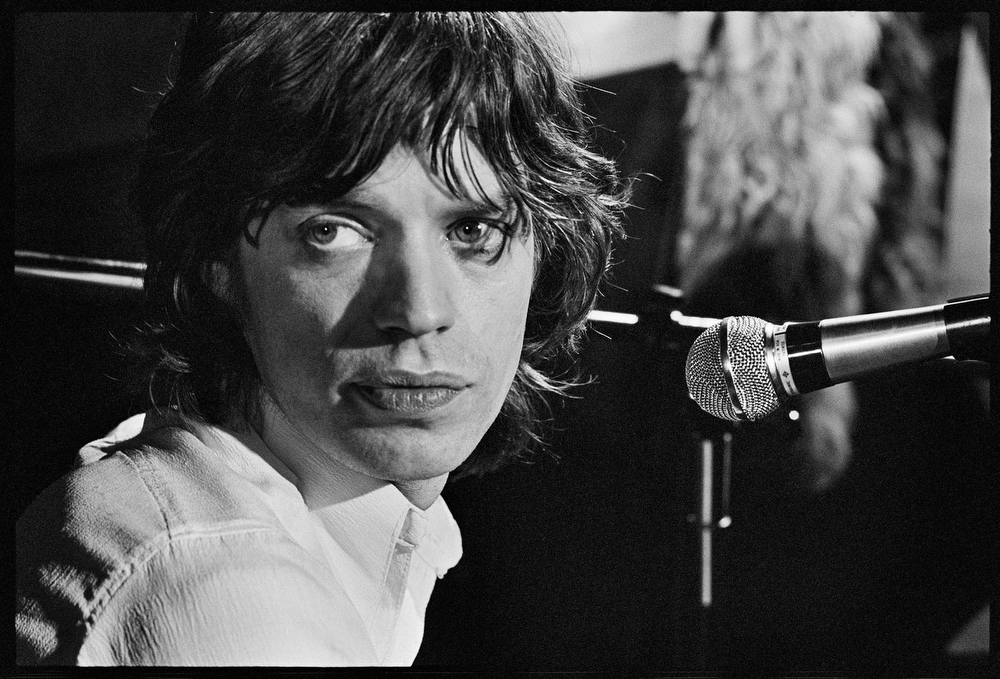 Mick Jagger by Alec Byrne