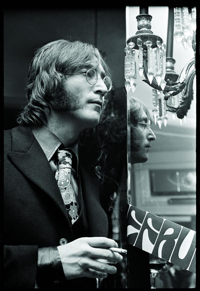 John Lennon by Alec Byrne