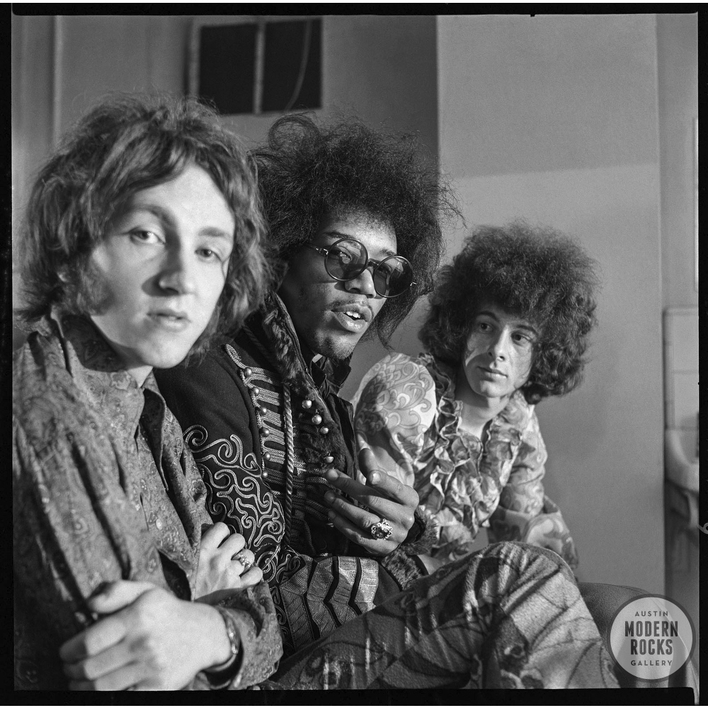 Jimi Hendrix Experience by Alec Byrne — Buy Signed Limited Edition Prints
