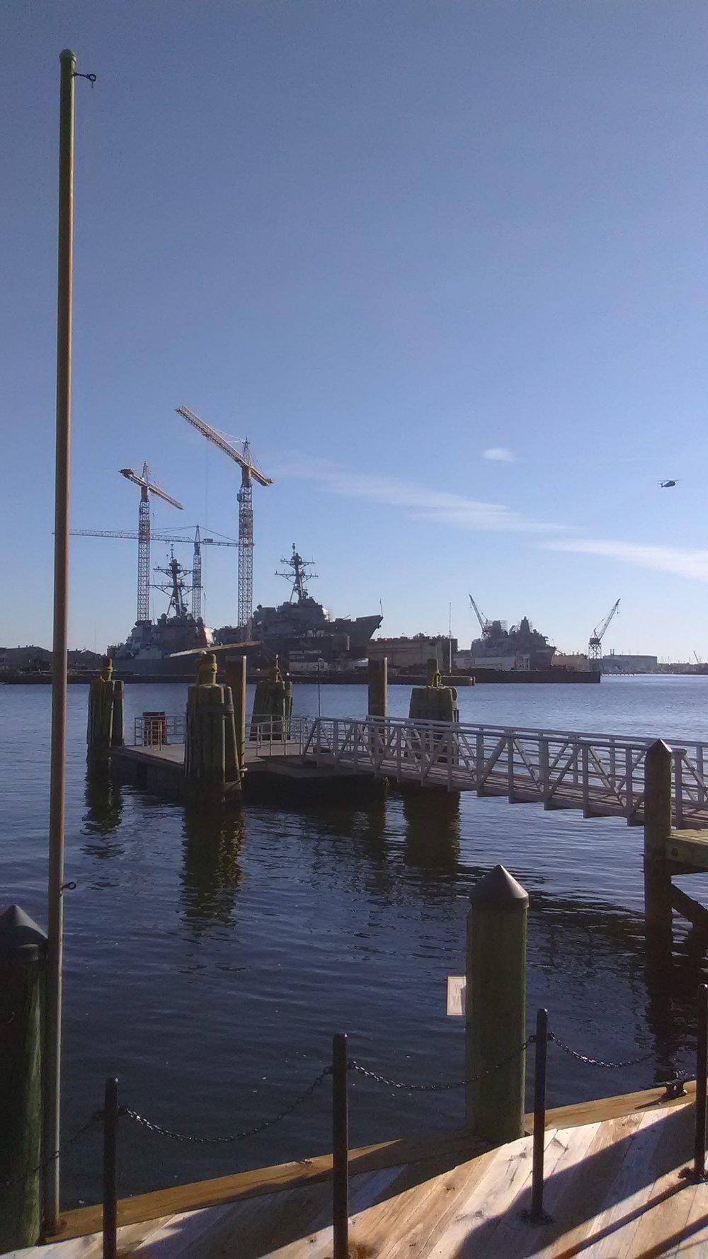 US Navy Shipyard