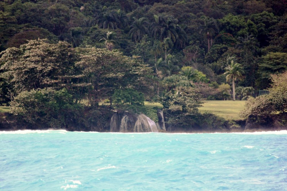 Waterfall Near Ocho Rios