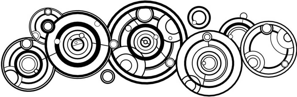 The Internet says this is the Doctor's name in Gallifreyan. I don't know this for sure. My work nerds haven't educated me yet.