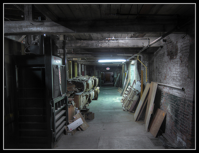 """In the Basement,"" by Jay Parker on Creative Commons."