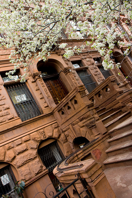 """Brownstones,"" by Garrett Zeigler on Creative Commons."