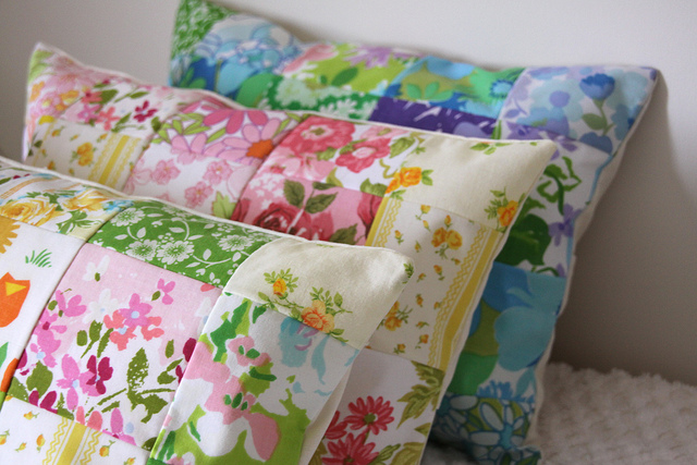 Patchwork Pillows, by SweetJessie on Creative Commons