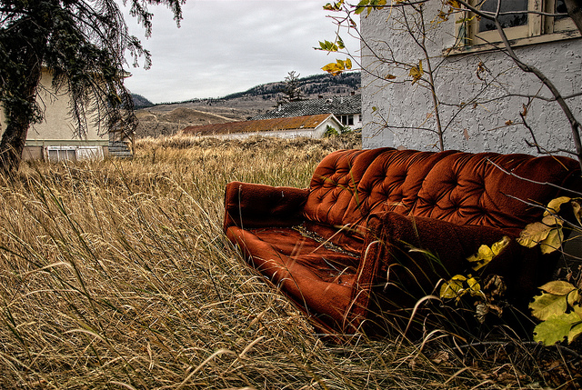 """Rusty Couch,"" Wayne Stadler, Creative Commons"