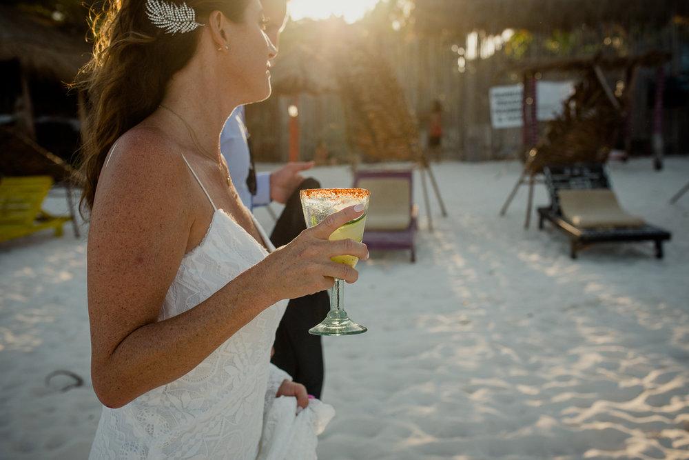 Betsy & John - akiin beach- Tulum -