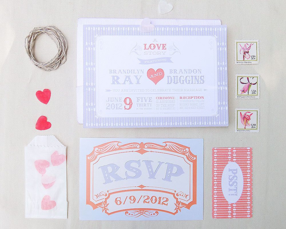 Love Story Invitation Suite