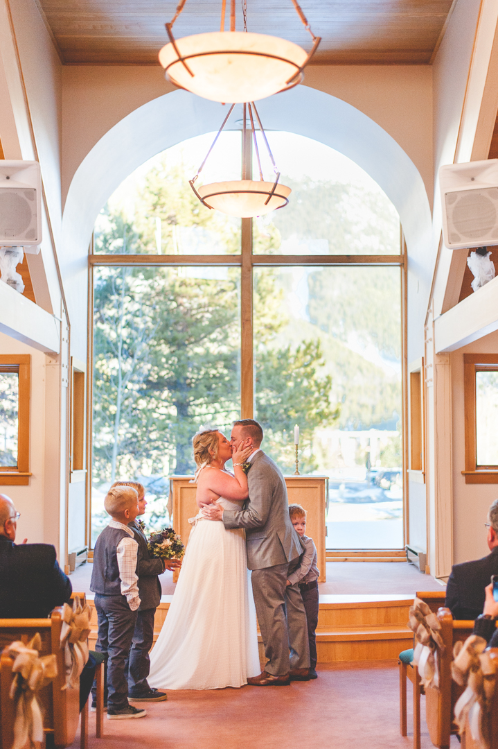 Sweet Winter Wedding At Copper Mountain Keeping
