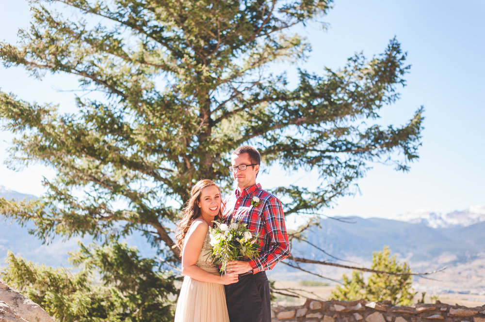 Fall Colorado elopement at Sapphire Point | Keeping Composure Photography