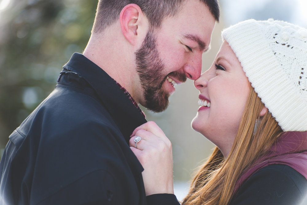 get excited, giggle, get close - the best ways to make sweet images during an engagement session!
