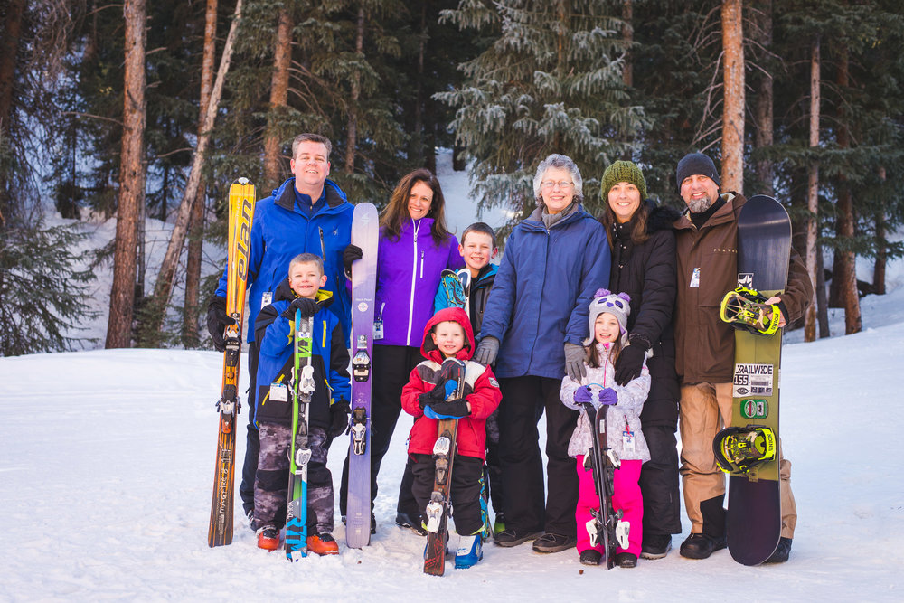 winter family photographer at Copper Mountain Resort | Colorado Destination Family Photographer | Keeping Composure Photography