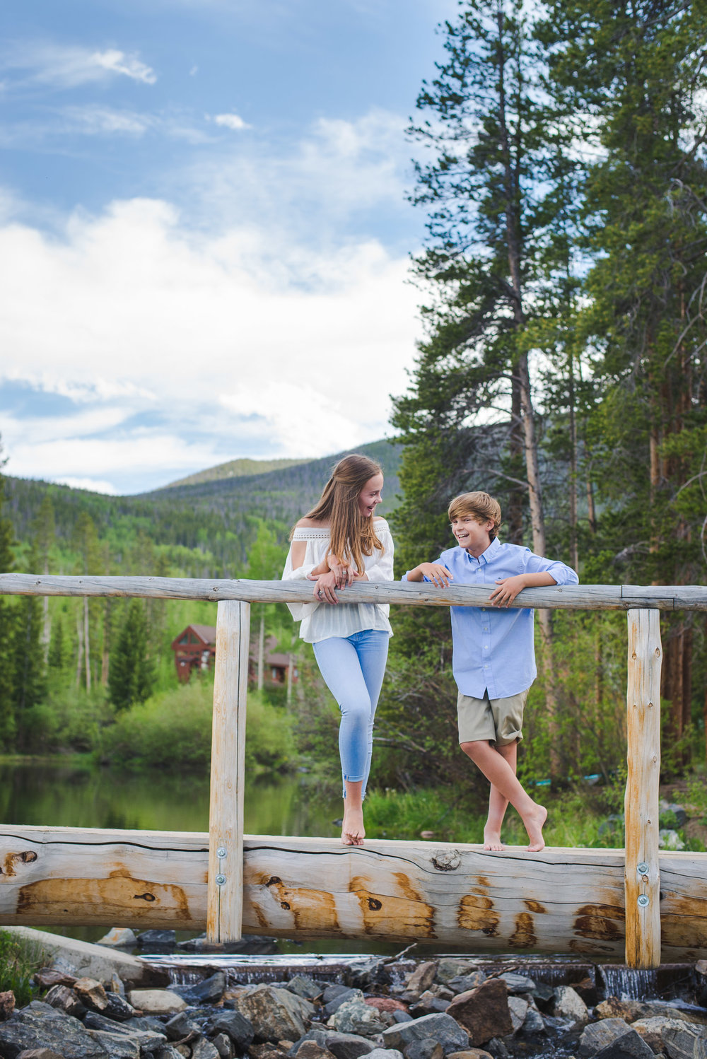 three generations of family on vacation in the mountains of Frisco, Colorado | Keeping Composure Photography | Colorado family photographer