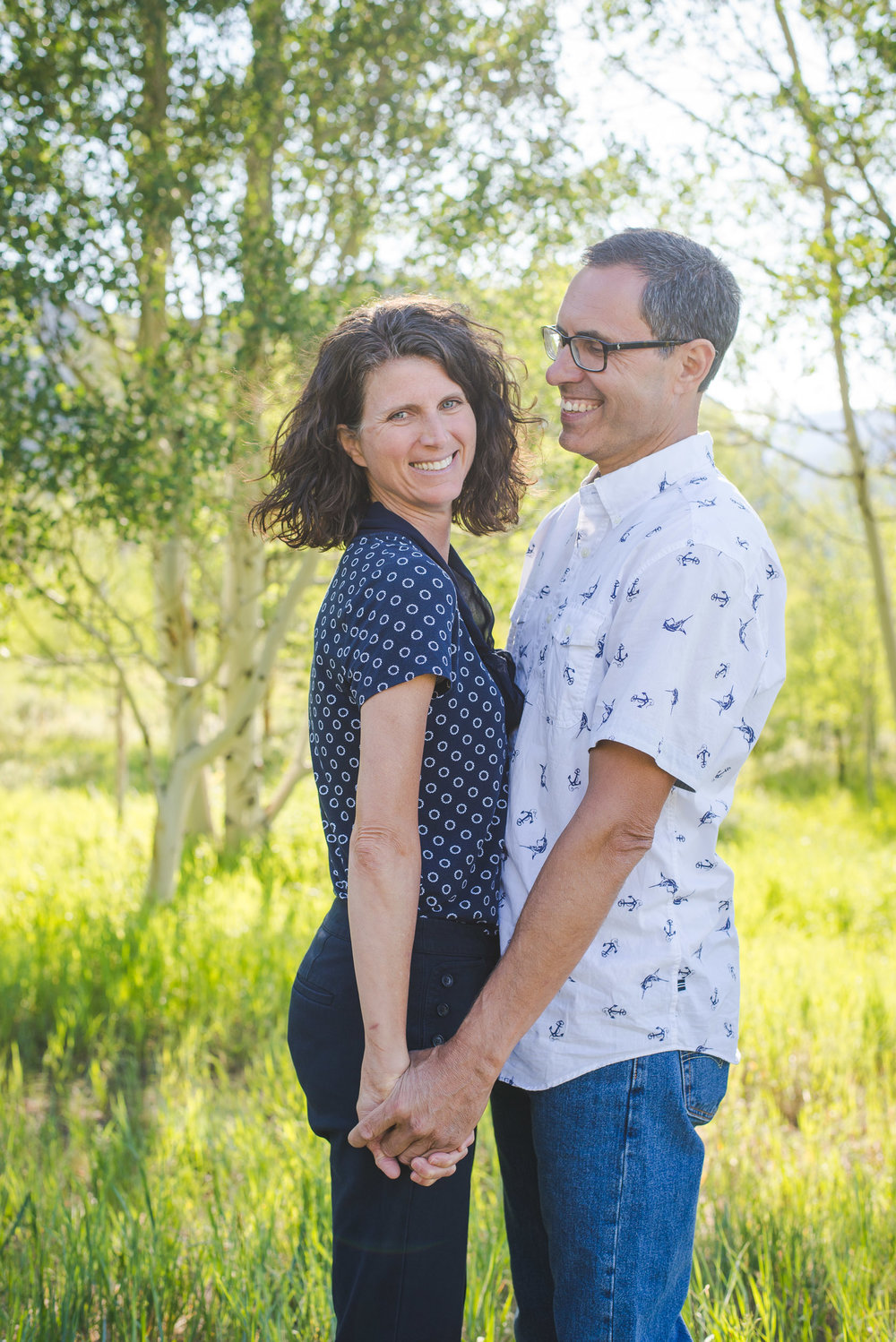 Summer evening family photos in Frisco, Colorado | Mixing up the Pieces | Keeping Composure Photography