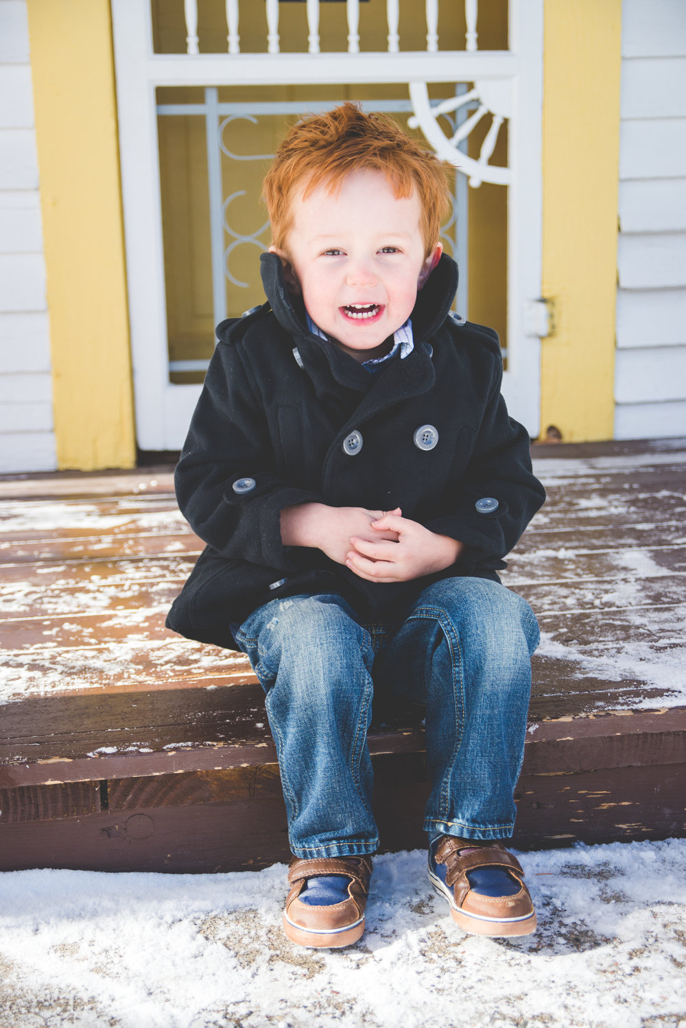 Winter family photos in Frisco, Colorado | Prepping your Little Ones for Portrait Sessions | Keeping Composure Photography