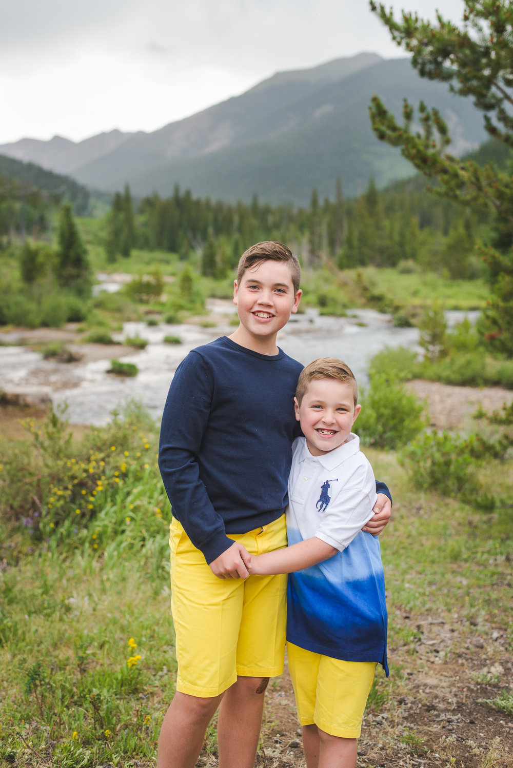 Keystone, Colorado summer family portraits | Keeping Composure Photography