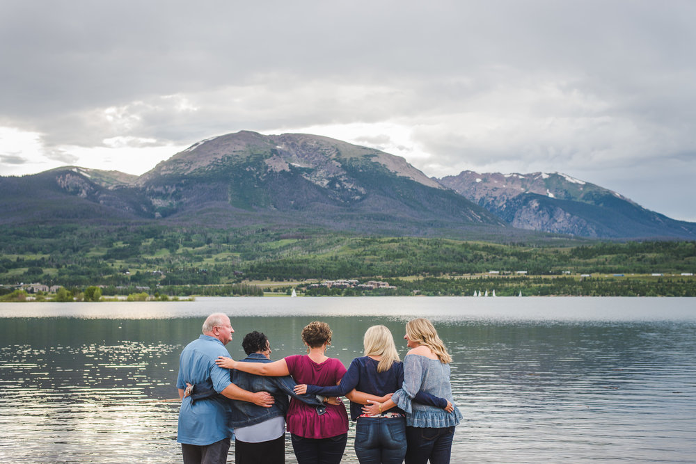 Summer Vacation Family Portraits at Lake Dillon and Frisco, Colorado | Keeping Composure Photography