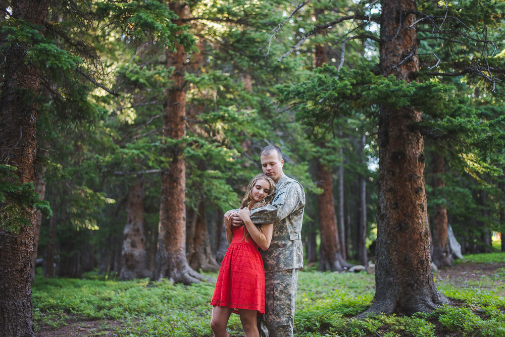 Rocky Mountain Engagement Session during Colorado Summer Vacation | Keeping Composure Photography | Breckenridge Wedding + Family Photographer