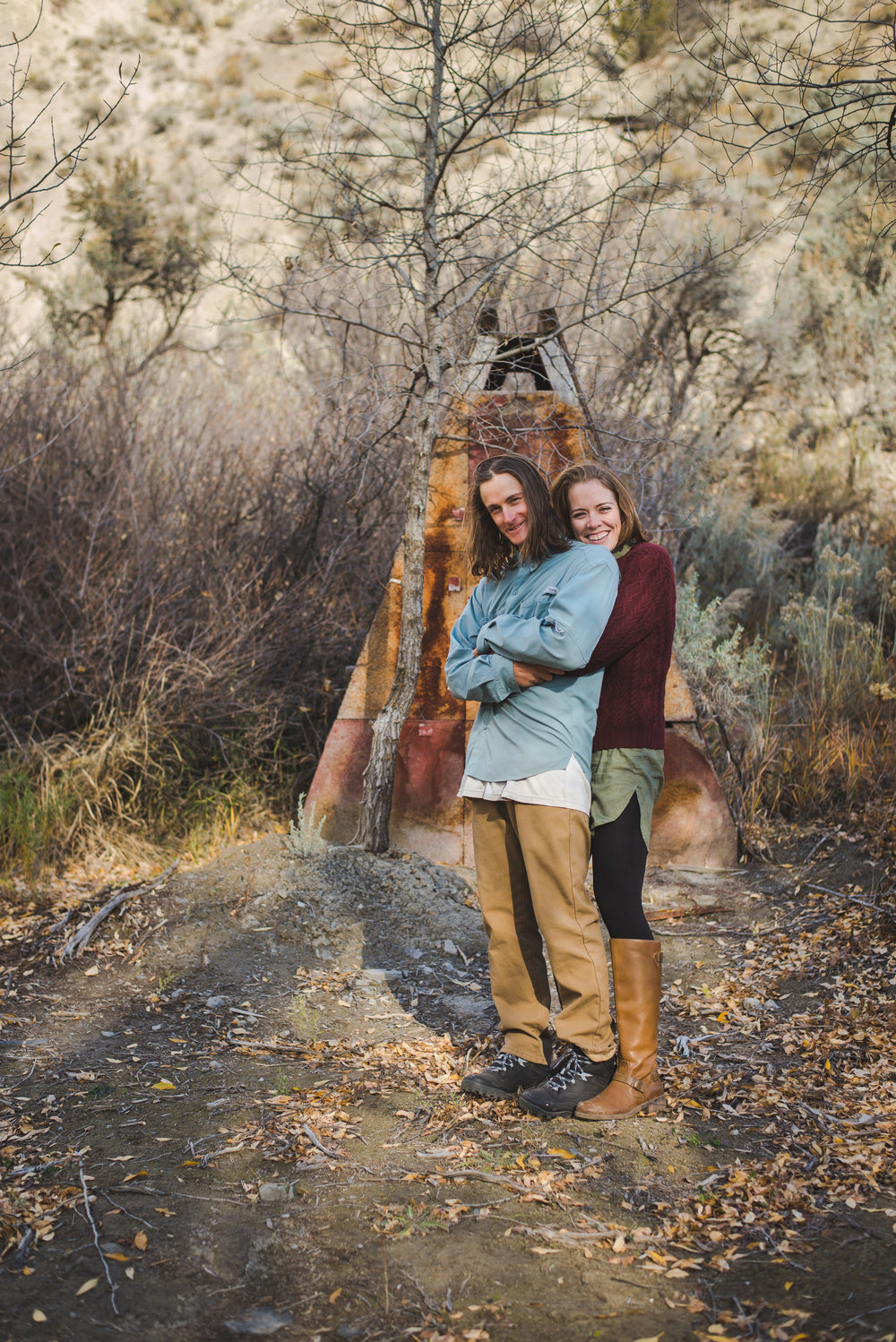 colorado farm engagement photos